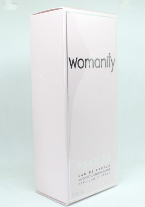 Mugler Womanity 80 ml Eau de Parfum Refillable Spray
